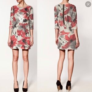ZARA Sequin Dress Size Small